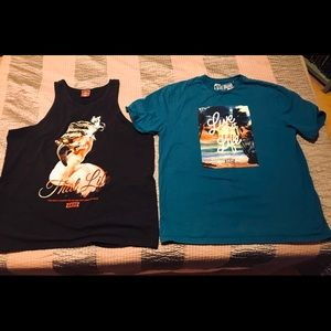 Akoo Shirt Bundle both 2xl